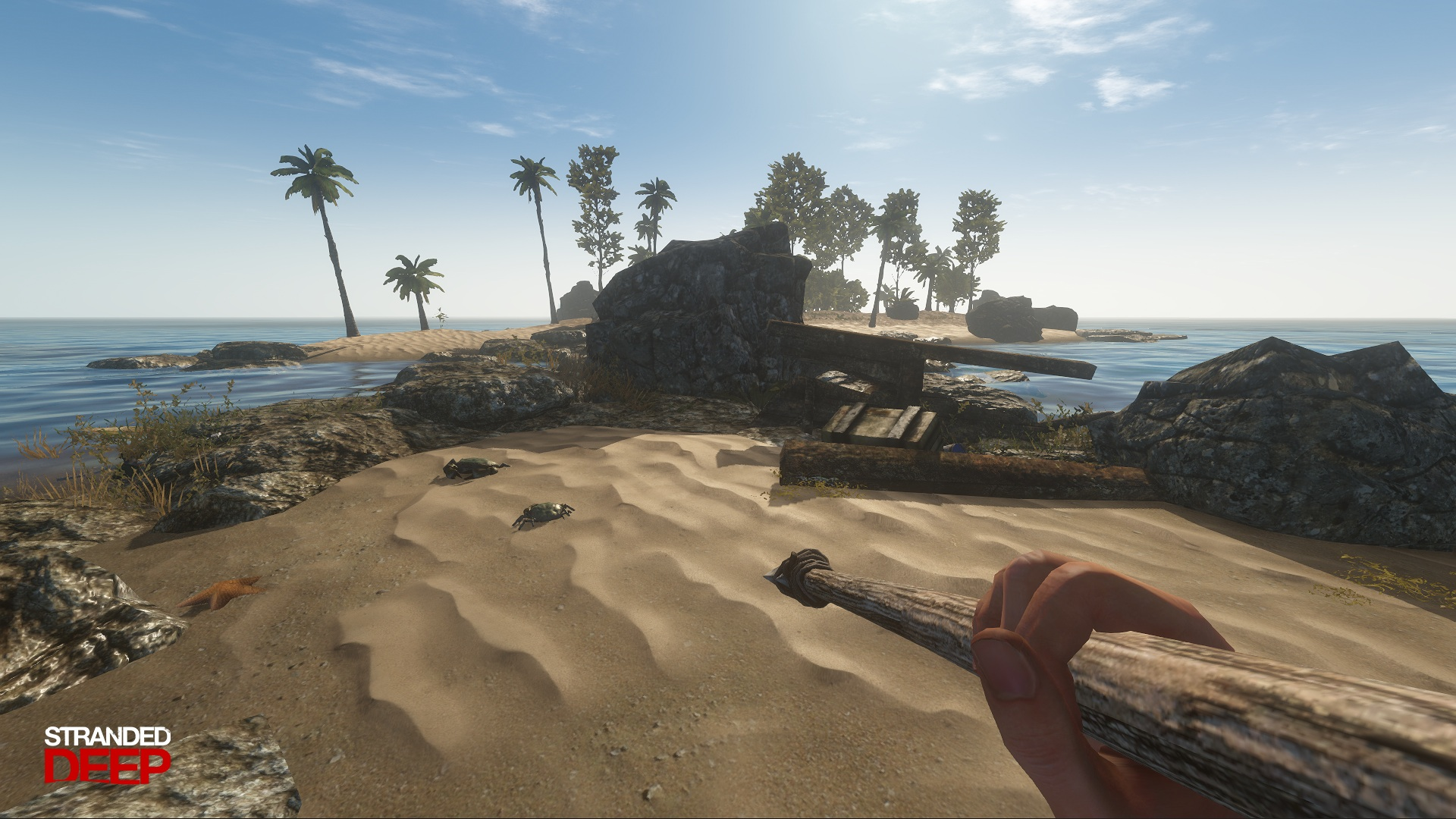 Stranded deep beam team games for Crab fishing game