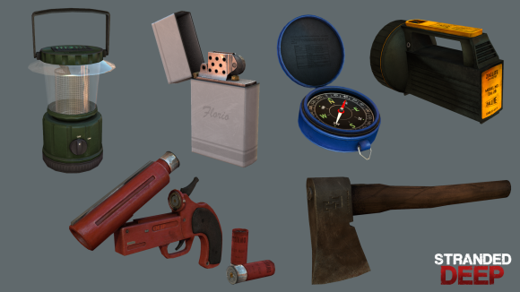Stranded Deep Items
