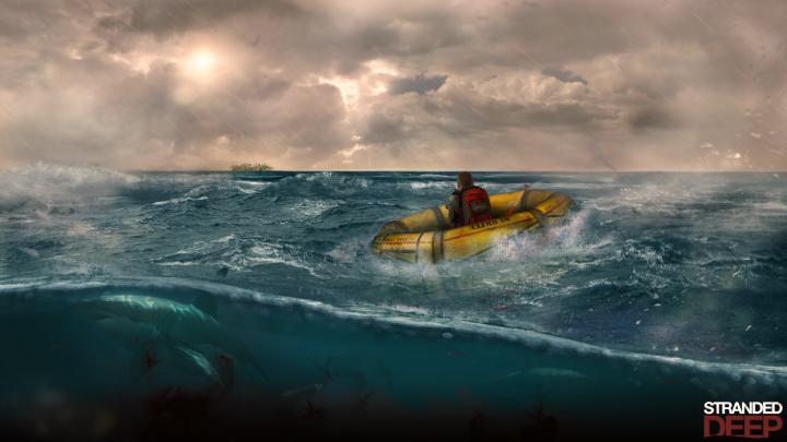 Stranded deep Speed Art 1080p