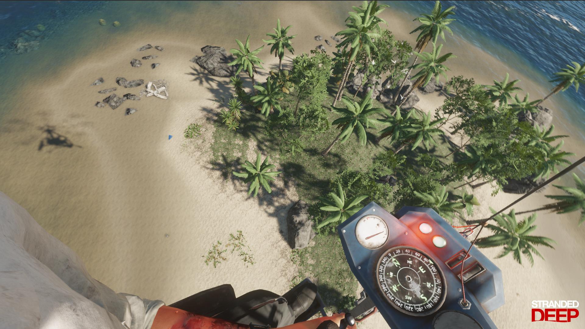 Stranded Deep World Map.Team Games